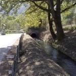 Il canale d'irrigazione